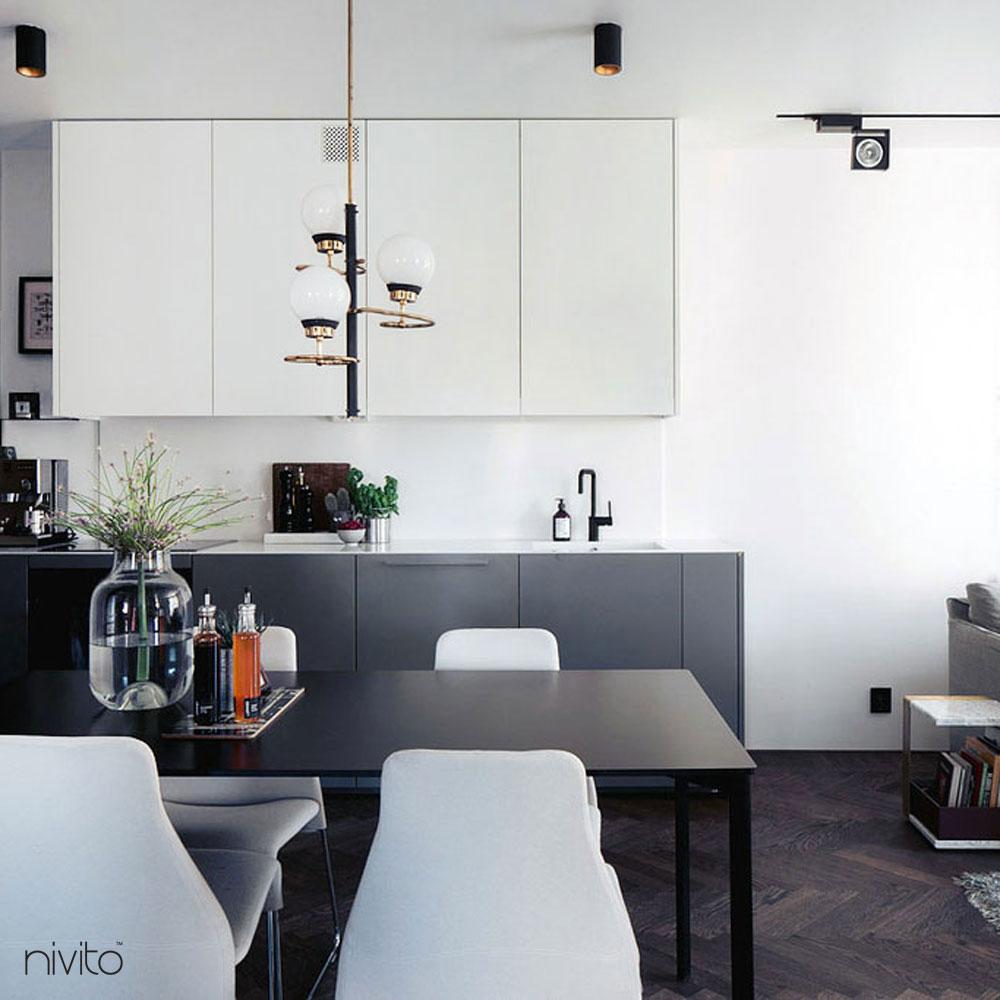 Musta Keittiöhana - Nivito 11-RH-320