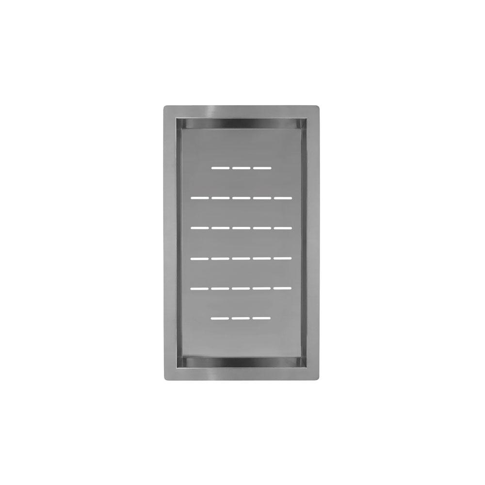 Ruostumaton Teräs Huuhtelukulho - Nivito CU-WB-240-B