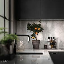Musta Keittiöhana - Nivito 10-RH-320