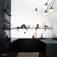 Musta Keittiöhana - Nivito 13-RH-320