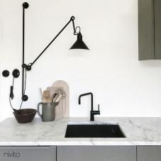 Musta Keittiöhana - Nivito 16-RH-320