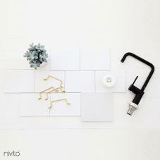 Musta Keittiöhana - Nivito 19-RH-320