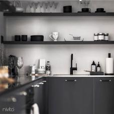 Musta Keittiöhana - Nivito 21-RH-320