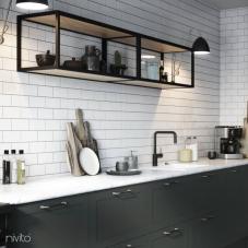 Musta Keittiöhana - Nivito 22-RH-320