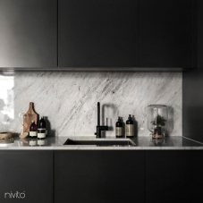 Musta Keittiöhana - Nivito 8-RH-320