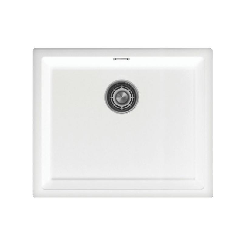 Valkoinen cu-500-series - Nivito CU-500-GR-WH White Strainer ∕ Waste Kit Color