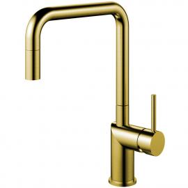 Mässing/Guld Kökskran Utdragbart munstycke - Nivito RH-340-EX